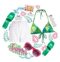 Summer heat 💚💕 Outfit | ShopLook Teen Summer, Summer Heat, Beach Day Outfits, Cute Outfits, Outfit Maker, Banks, Summertime, Fitness, Casual