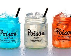 Poison Cocktails ready made cocktails in jars
