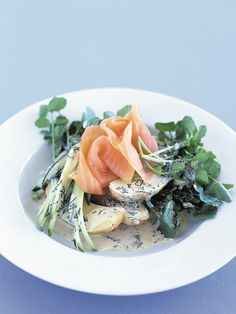 smoked salmon salad - use a different dressing, this dressing was not good.