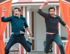 """Jonathan Scott on Instagram: """"Only one more day until the premiere of #BroVsBro on @hgtv! Can you tell we're excited? Join us for a live Twitter party tomorrow night…"""""""