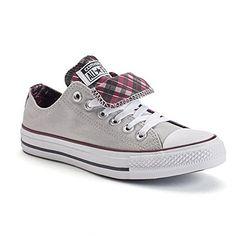 ba520b73bb0c Converse Chuck Taylor All Star Double Tongue OX Fashion S... https