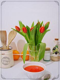 Sopa de cenoura, beterraba e laranja