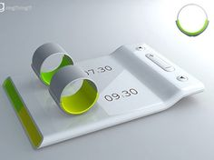 Interesting Engineering ►  Couples Alarm Clock Ring - wakes each up quietly at different times
