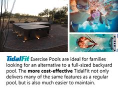 The Exercise Pool Family Fitness, Pools, Families, Fitness Motivation, Alternative, Spa, Swimming, Backyard, Exercise
