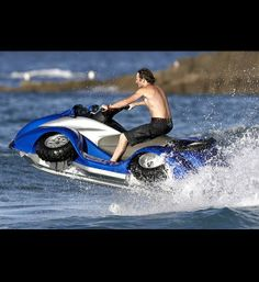 ultimate guy wish list, crazy gifts, expensive gifts, The Quadski