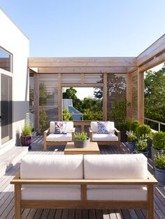 Austin Patterson Disston Architekten / Hamptons Haus Terrasse Source by Outdoor Rooms, Outdoor Living, Outdoor Furniture Sets, Outdoor Balcony, Outdoor Decor, Outdoor Seating, Backyard Patio, Pavers Patio, Patio Fence
