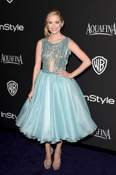 Actress Greer Grammer attends the 2015 InStyle And Warner Bros. 72nd Annual Golden Globe Awards Post-Party at The Beverly Hilton Hotel on January 11, 2015 in Beverly Hills, California.