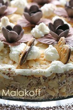 Malakoff cake - Almond Torte Austrian