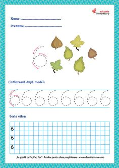 Fișe de lucru - Scrierea cifrelor și a numerelor Numbers Preschool, Preschool Activities, Diagram, Teaching, Math, Model, Ely, Dental, David