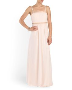 Made In Usa Sleeveless Beaded Gown - Formal - T.J.Maxx