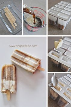 rootbeer floats - popsicles