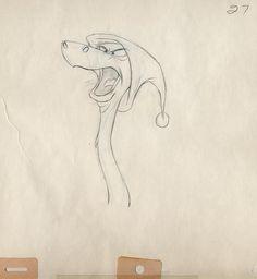 Walt Disney Drawings, Disney Drawings, Walt Disney Drawings for Sale Disney Sketches, Disney Drawings, Cartoon Drawings, Animal Drawings, Cartoon Art, Art Drawings, Art Disney, Disney Artists, Disney Concept Art