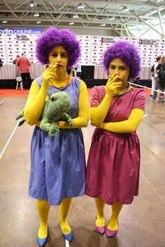 Best costumes ever: Aunts Patty & Selma