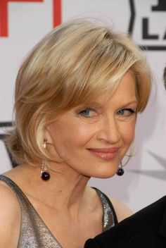 hair styles for 60 diane sawyer chin length hairstyles for age 50 1232