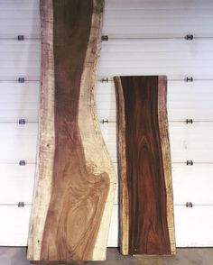 Live edge Parota slabs have arrived for the spiral staircase build. One 12' slab and one 8'. Stoked for this project!     #wood #liveedge #parota #parotawood #liveedgewood #spiralstaircase #medhat #swiftcurrent #customstaircases #customfab #interiordesign #woodwork #rusticinteriors #industrialinteriors #handmade #handbuilt #wearethemakers #makersmovement #medicinehat #homebuild #cottage #metalfab #customwork #metalfabrication #customstairs #interiors #alberta #albertafab #canadianinteriors…