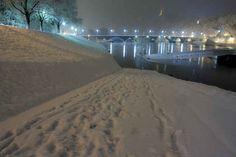 Schnee gab es im Winter auch noch nie. Schlimm.