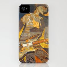 Dee Dee Ramone iPhone Case by Greg Mason Burns - $35.00