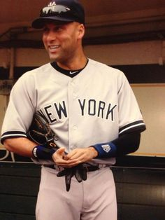 """Derek Jeter He plays ball like I live life. """"If you are going to do it, do it on purpose!"""" I have loved baseball my whole life. Derek Jeter plays the game with passion in his heart for it everytime! Repsect!"""