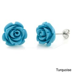 Eternally Haute Steeling Beauty Garden Collection Stud Earrings (