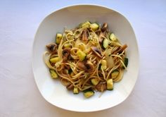 Receitas Rápidas #9 - Esparguete com Cogumelos, Alho e Coentros ~ Not Guilty Pleasure