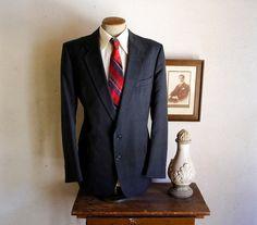Vintage CHRISTIAN DIOR Mens Suit Jacket / by TheNakedManVintage