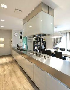 DPL floor tiles with #wood effect BERRYALLOC - ELEGANCE by @woodcoparquet #kitchen