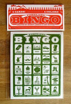 Portland Bingo