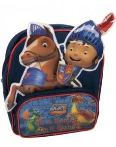 Mike the Knight 3D Backpack $26.95 www.mamadoo.com.au #mamadoo #backpacks #bags