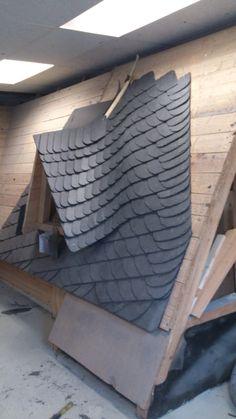 slate roof in old german style - Slate Castle Ideas