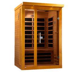 Low EMF Sauna 2 Person 6 Carbon Vienna Edition