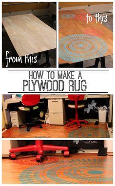Plywood Rug