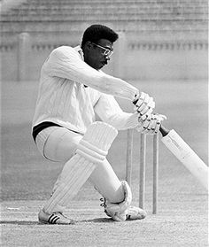 West Indian cricketer Clive Lloyd of Lancashire, 22nd May 1970.