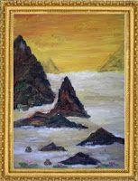 Razarts: Mountains and Mount Everest Paintings symbolism Rizwana A.Mundewadi