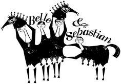 panto belle and sebastian by lesley barnes, via Flickr