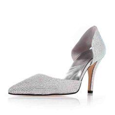 home wedding shoes rhinestone shoes sparkling close toe mid heel rhinestone bow gold wedding party shoes Silver Wedding Shoes, Silver Shoes, Sparkle Shoes, Rhinestone Shoes, Dress Flats, Silver Dress, Home Wedding, Party Shoes, Cute Shoes