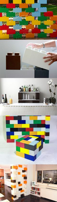 EverBlock: Customize your Space With Oversized Modular Lego Bricks
