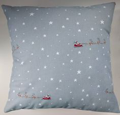 Cushion Cover in Sophie Allport Starry Night by SimplyDivineThings