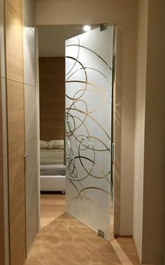 Living Room Partition Design, Room Partition Designs, Room Door Design, Home Room Design, Home Interior Design, Window Glass Design, Window Grill Design Modern, Frosted Glass Design, Small Bathroom Redo