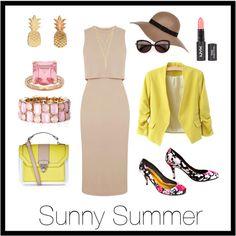 La French Cut's Flower print stilettos styled for summer Topshop Style, Wildfox, Flower Prints, Sunnies, Polyvore Fashion, Custom Made, Stilettos, River Island, Summer
