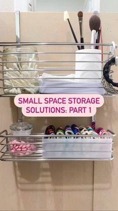 Do It Yourself Organization, Home Organization Hacks, Bathroom Organisation, Organizing Your Home, Diy Storage Hacks, Small Space Organization, Household Organization, Organization Ideas, Storage Ideas