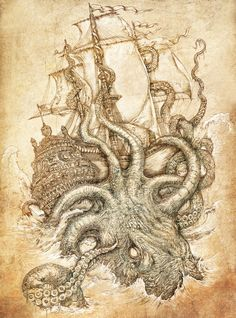 Ich liebe Kraken ^^ .. auch wenn sie grimmig gucken *g*