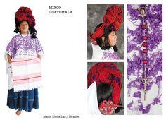 Traje típico de Mixco, Guatemala