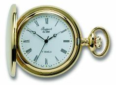 Rapport PW54 Mechanical 17 Jewel Gold Plated Hunter Pocket Watch Rapport of London. $325.00