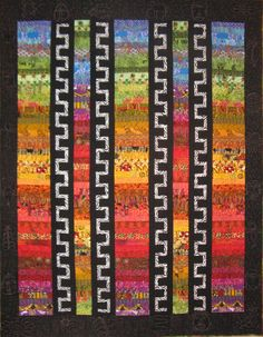 Distant Drums by Lou Gutsch | Quilts Tallahassee 2014 show