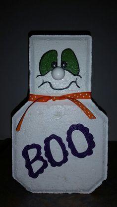 Boo paver craft