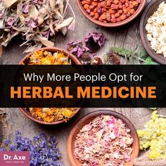 Herbal medicine - Dr. Axe http://www.draxe.com #health #holistic #natural