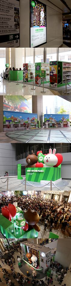 LINE Exhibition in Hongkong on Behance
