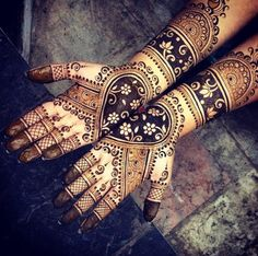12 Henna Artists to Follow on Instagram via Brit + Co.