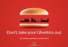 Mc Donalds London 2012 Ad