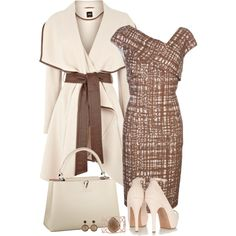 """Neutral Chic"" by kajones722 on Polyvore"